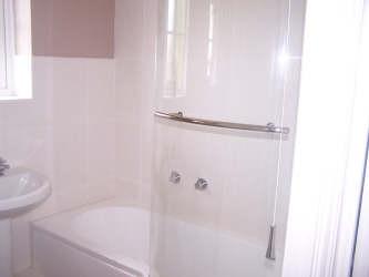 Showers installed  by White Rose Plumbing in Swanmore